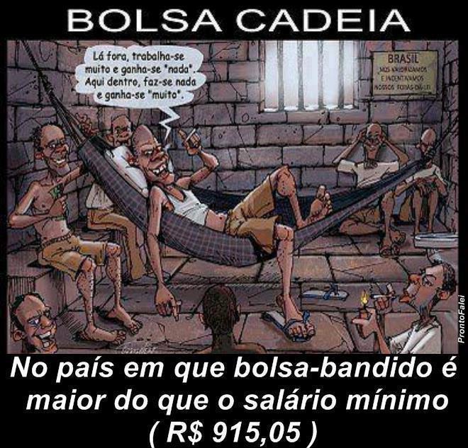 Auxílio Reclusão Bolsa Bandido Previdência Lei De 2009 Bandido