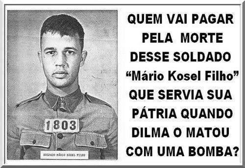 Resultado de imagem para Dilma terrorista