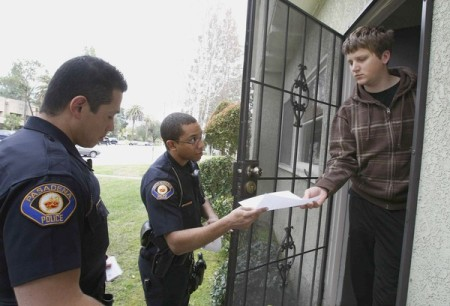 police-gun-inspection