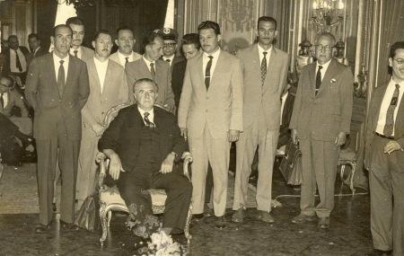 Elias Fausto - Adhemar e políticos de Elias Fausto início dos anos 60
