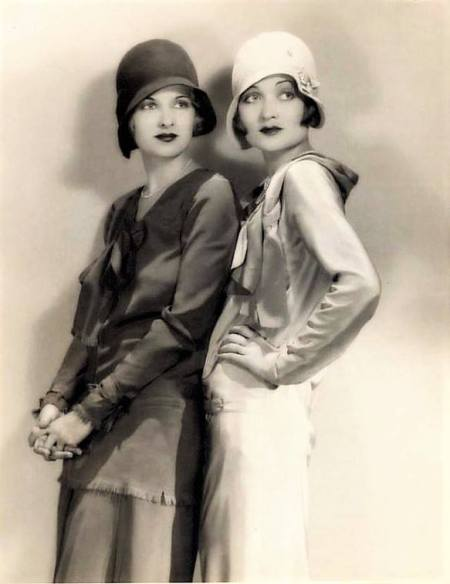 Sisters Joan & Constance Bennett