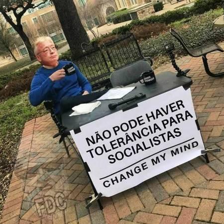 nao aceita socialista